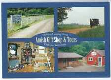 Wisconsin, Cashton, Amish Country Store, 4 Scenic Views, Unposted-Postcard