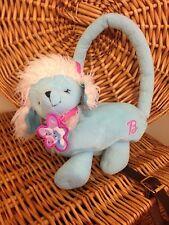 barbie poodle handbag blue