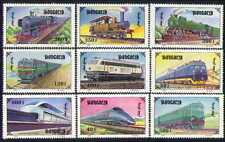 Mongolia 1997 Trains/Steam/Transport/Railway 9v n15606a