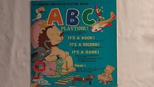 ABC Playtime!  A Ken Noyle Platter Book #S214 AudioRama Corp of America