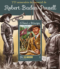 Sao Tome & Principe 2016 MNH Robert Baden-Powell 1v S/S Scouting Scouts Stamps