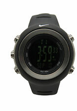 Nike Oregon WA0030 Digital Dark Regular Series Black Sports Fitness Watch