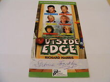 SABRINA FRANKLYN Signed Outside Edge Theatre Flyer Autograph TV Stage Actress
