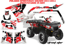 AMR Racing DECORO GRAPHIC KIT ATV POLARIS SPORTSMAN modelli Street star B