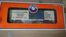 LIONEL O GAUGE No. 6-29904 2002 NYC TOY FAIR BOX CAR-MINT IN THE BOX