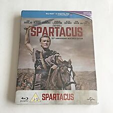 Spartacus Blu-Ray Steelbook [U.K.] 1,000 Print Worldwide! Region Free! RARE! NEW