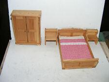 Ancienne chambre - 70/80er ans-Design-Lundby-Lisa - maison de poupée-poupée - 1:18