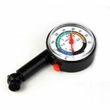 Portable Auto Motor Car Bike Tire Air Pressure Gauge Dial Meter Vehicle Tester