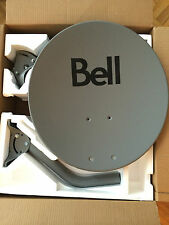 "Dish 500 Bell ExpressVu 20"" 2 LNBs & 2 SW21 FREE BRACKET& 4 JUMPER CABLE New"