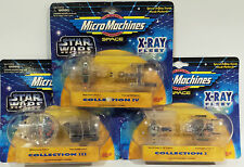STAR WARS : X-RAY FLEET COLLECTION SERIES 1,3 & 4 MADE BY GALOOB IN 1995