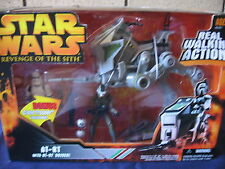 STAR WARS - rots  AT-RT + driver set + bonus clone trooper exclusive  case fresh