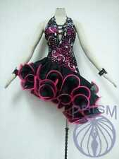 LATIN RHYTHM SALSA BALLROOM DANCE DRESS COMPETITION - SIZE S, M, L (HL1358)