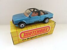 Matchbox Superfast 39d BMW 323i Cabriolet - Met Blue  - Mint/Boxed