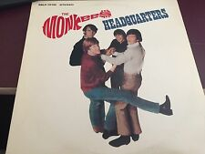 THE MONKEES HEADQUARTERS LP 1986 Rhino RNLP-70143