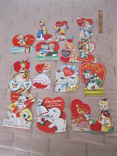 Vintage Valentine's Day Cards Lot 15 from 1952-1953 ~*~*~*~*