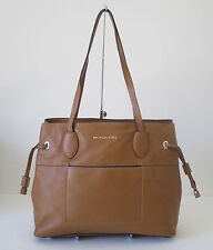 Michael Kors Large Marina Brown Drawstrings Tote Shoulder Handbag