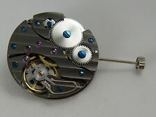 Watch Movement UNITAS 6497-2 clone SWAN NECK regulator GUN COLOR AAA quality