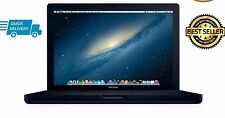 "Apple MacBook 13"" Core 2 DUO 2.0ghz 4gb 250gb HDD mb404 2008 a1181 Nero"