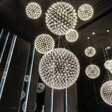 Luxury 12inch 10W LED Firework Pendant Lamp Ball-Shape Ceiling Light Dining Room