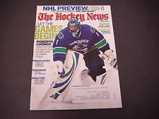 The Hockey News Magazine,Sept 28,2009,NHL, Hedman,Calgary,Robert Luongo,Ranking