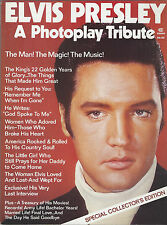 1977 Photoplay Elvis Presley A Photoplay Tribute Special Collector's Edition
