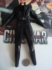 HOT TOYS 1/6 CAPTAIN AMERICA CIVIL WAR BLACK widow JUMPSUIT   - US SELLER