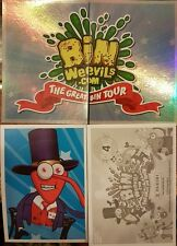 BIN WEEVILS: THE GREAT BIN TOUR FULL SET OF STICKERS X256