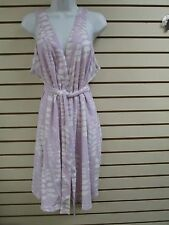 Vintage Stan Herman Terry Cloth Shower Wrap Robe (Lilac) - 1X- NWT