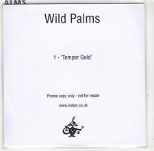 (GX510) Wild Palms, Temper Gold - 2016 DJ CD