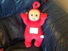 "14"" TELETUBBIES PO PLAYS TELETUBBIES TUNE AND SCREEN CHANGES COLOURS 1996"