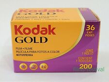 10 rolls KODAK GOLD 200 35mm 36exp Colour Film 135-36