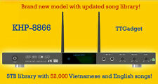 KHP-8866 Android Karaoke Player + 5TB 52,000 Vietnamese and English songs