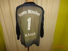 "FC Bayern München Adidas Torwart Trikot 03/04 ""-T---Mobile-"" + Nr.1 Kahn Gr.S- M"