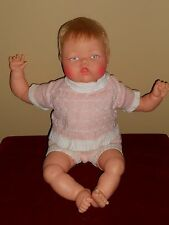 "Thumbelina 19"" Crier Doll Ideal Complete All Original Excellent Works"