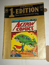 DC Superman ACTION COMICS C-26 Treasury Famous 1st Collector's Edition