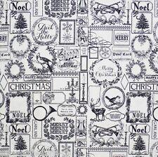 Found Christmas Patchworkstoffe Meterware Weihnachtsstoffe Stoffe Patchwork Noel