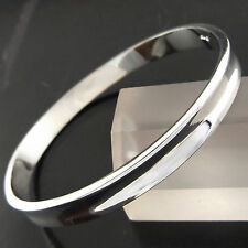 A395 GENUINE REAL 925 STERLING SILVER S/F GOLF SOLID LADIES CUFF BANGLE BRACELET