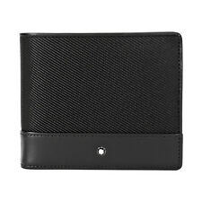 Montblanc Nightflight Bi-Folding Nylon/Leather Wallet 113148
