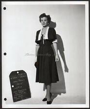 JEAN PETERS Marilyn Monroe film AS YOUNG AS YOU FEEL fashion test VINTAGE PHOTO