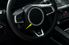Inner Accessories Steering Central Cover Ring Trim For Jaguar XE X760 2015 2016