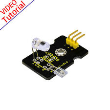 NEW! Finger Probe Heart Beat Pulse Rate Monitor Sensor Module for Arduino