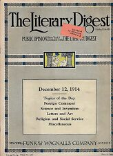 The Literary Digest--Dec./12/1914-----13