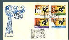 VATICANO - 1981 - Cinquantenario della Radio Vaticana
