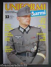 UNIFORMI E ARMI N° 23 MARZO 91 OTTIMO CROCE DI FERRO G.I. WW2 FANTE INGLESE WW1