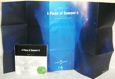 "Cheer Chen A Piece of Summer II Taiwan Ltd 2-CD+Live DVD+""folded Poster"""