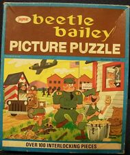 Beetle Bailey Boxed Puzzle, jaymar, Beetle Baily