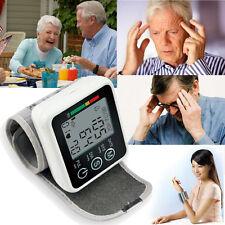 Digital LCD Wrist Blood Pressure Monitor+Heart Beat Rate Pulse Meter Measure JZK