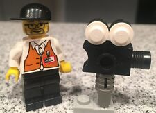 2002 Director Movie Camera Action Studio 1376 Lego Minifigure Original Spiderman