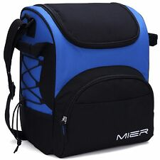 MIER Large Insulated Lunch Bag Reusable Lunch Box Picnic Cooler Bag for Men W...