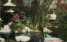 c1910 Postcard: Ainsworth Tea Garden, Redondo Beach CA Japonism, Unposted
